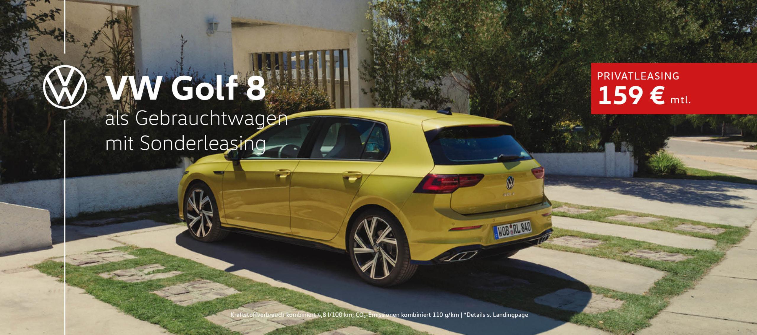Volkswagen Golf 8 Sonderleasing