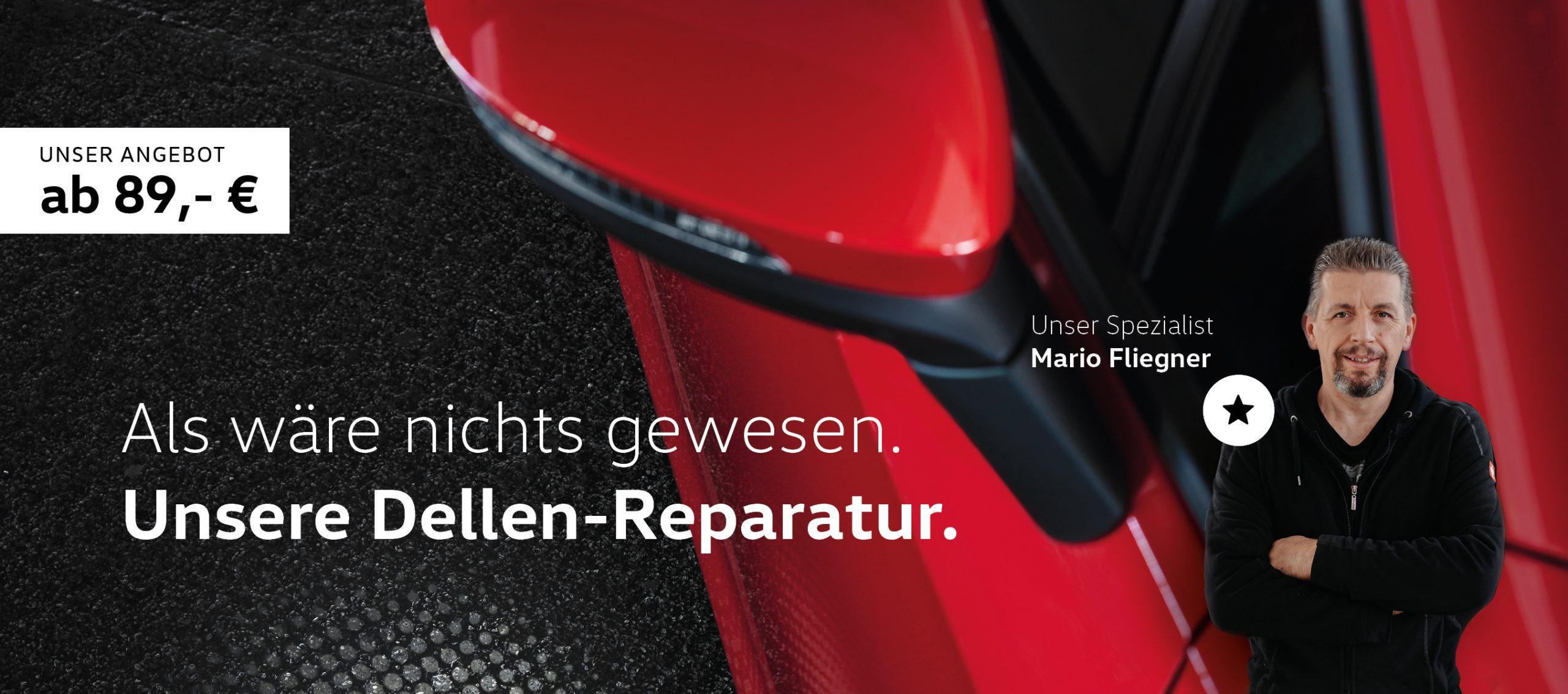 Dellen Reparatur Smart Repair Kierspe Autohaus Knabe