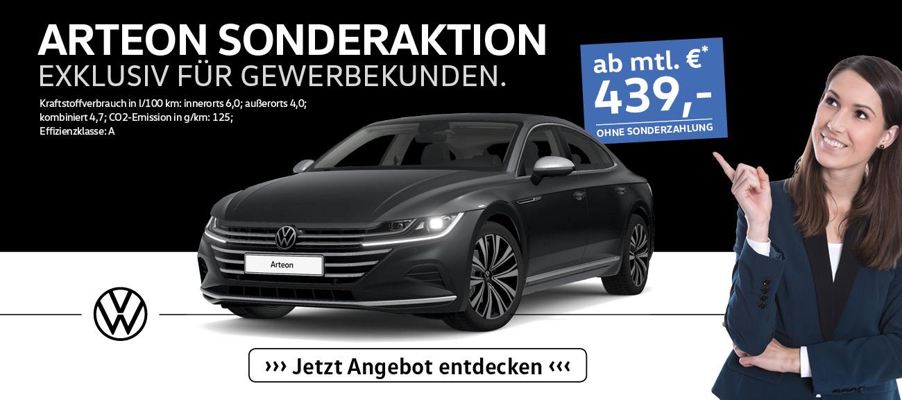 Gewerbekunden Angebote Volkswagen