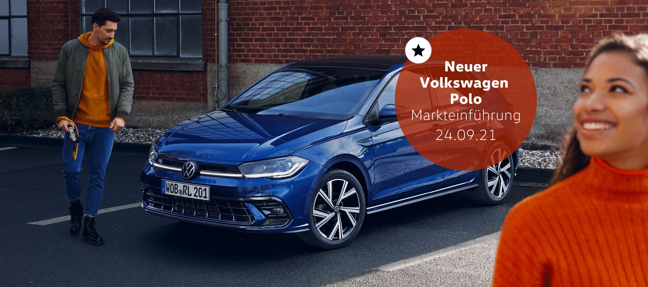 Neuer VW Polo Startseite